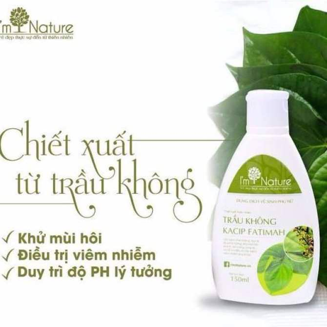 Dung dịch vệ sinh phụ nữa I'm Nature