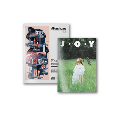 COMBO Hashtag No.2 Fashion + J.O.Y Magazine Issue 2