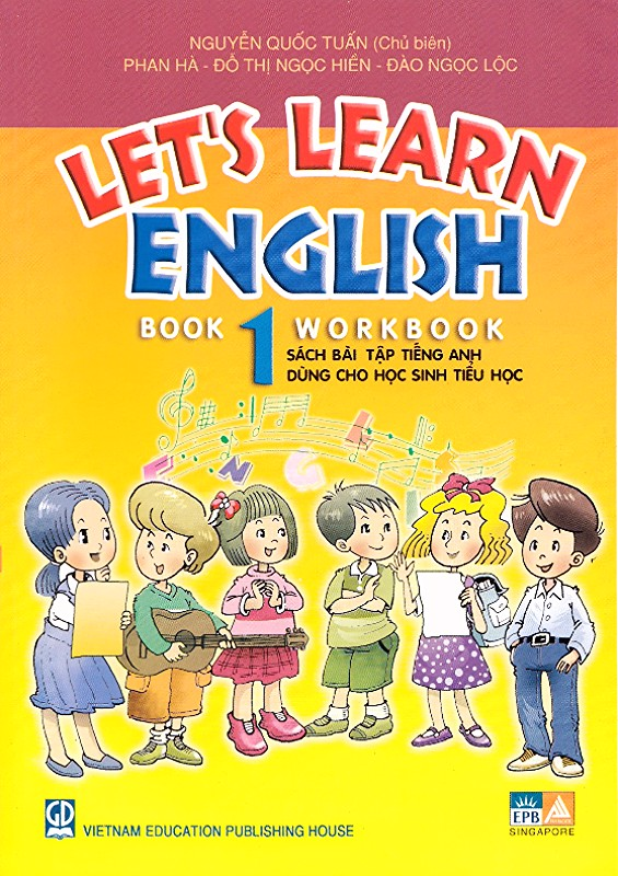 Sach Lets Learn English Book 1