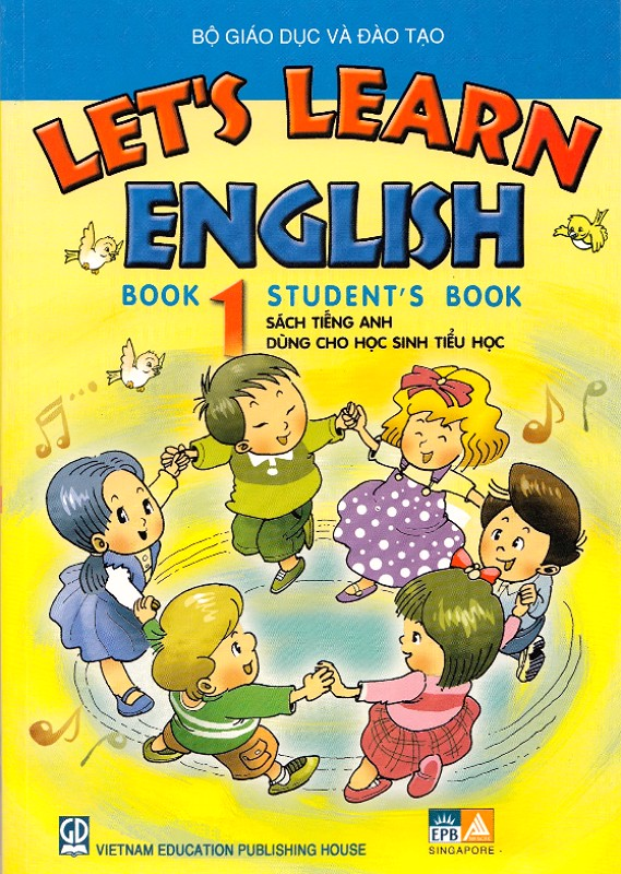Let's learn English book 1 - Student book (lớp 3)