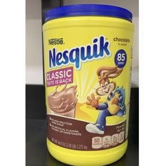 Bột Cacao Nestle Nesquik Chocolate 1.275kg của Mỹ