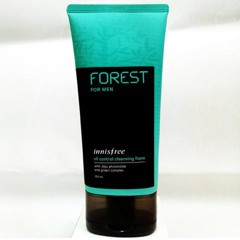 Sữa rửa mặt cho Nam Innisfree Forest For Men Oil Control Cleansing Foam (150ml)