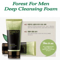 Sữa Rửa Mặt Nam Innisfree Forest For Men Deep Cleansing Foam (150ml)