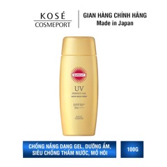 Chống nắng dạng Gel Kosé Cosmeport Suncut Perfect UV Protect Gel Super Water Proof SPF 50+/PA++++ 100g