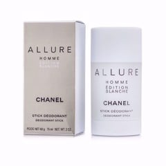 Lăn Khử Mùi Nam Chanel Allure Homme Edition Blanche 75ml