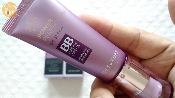 Kem Trang Điểm The Face Shop BB Cream Power Perfection SPF 37/PA++ (tone V201: tone sáng)
