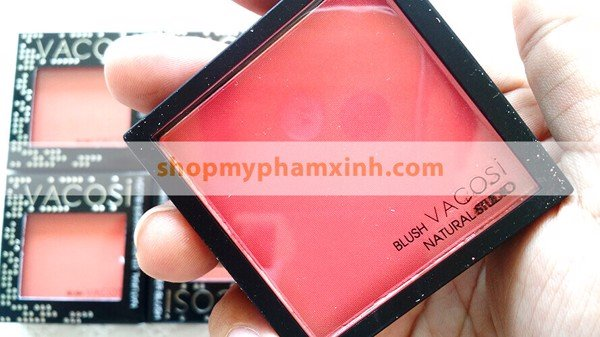 Má Hồng Vacosi Powder Blush Natural Studio (8g) - OR06 Màu Cam