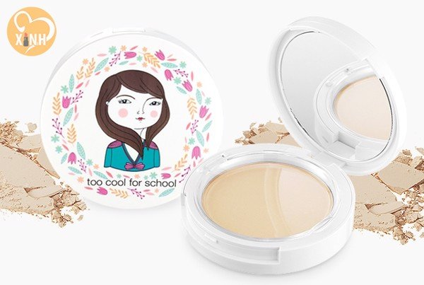 Phấn Phủ Too Cool For School Photoready Pact SPF25 (10g)