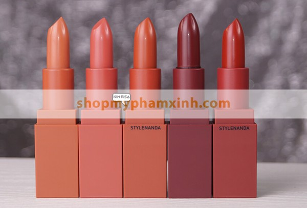 Son 3CE Mood Recipe Matte Lip Color (3.5g) - Màu 116 Cam Đất