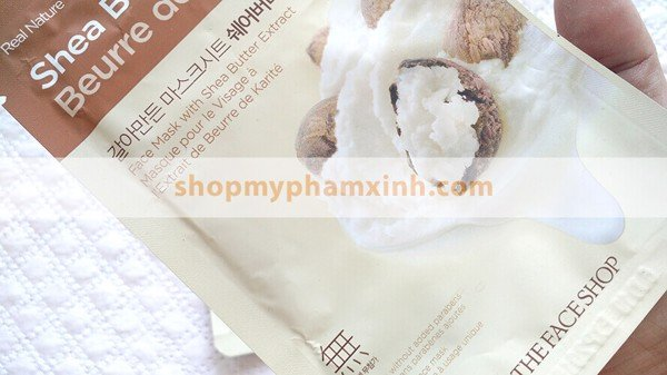 Mặt Nạ THE FACE SHOP REAL NATURE SHEA BUTTER FACE MASK