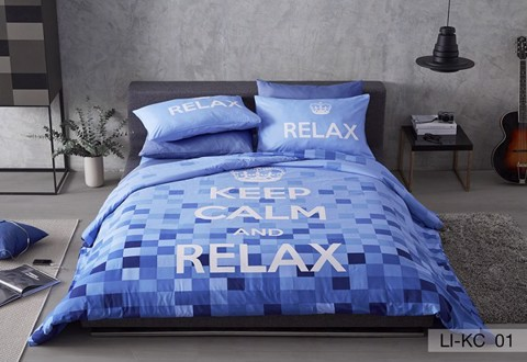 Bộ drap Keep Calm LI-KC01