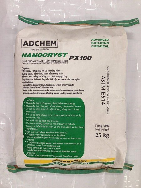 Chống thấm NANOCRYST PX100