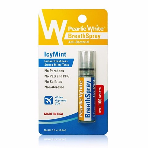 Pearlie White  Xịt diệt khuẩn IcyMint