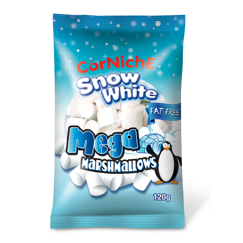 Kẹo Marshmallows snow white 120g