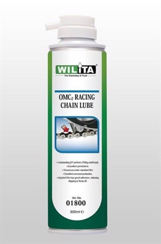 Chai xịt sên Wilita OMC2 Racing Chain Lube 300ml