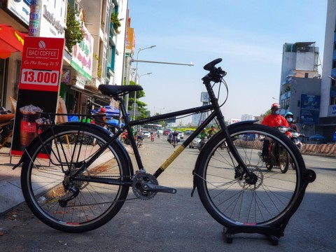 Xe đạp touring Windspeed LongRider 2 Group Alivio