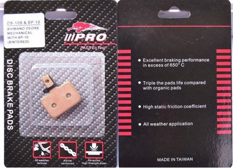 Bố Thắng Dĩa LiiPRO DS10 Metal - Shimano Deore