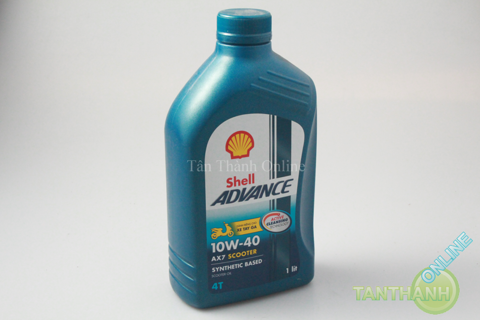 Nhớt tay ga Shell Advance AX7 4T 10w40