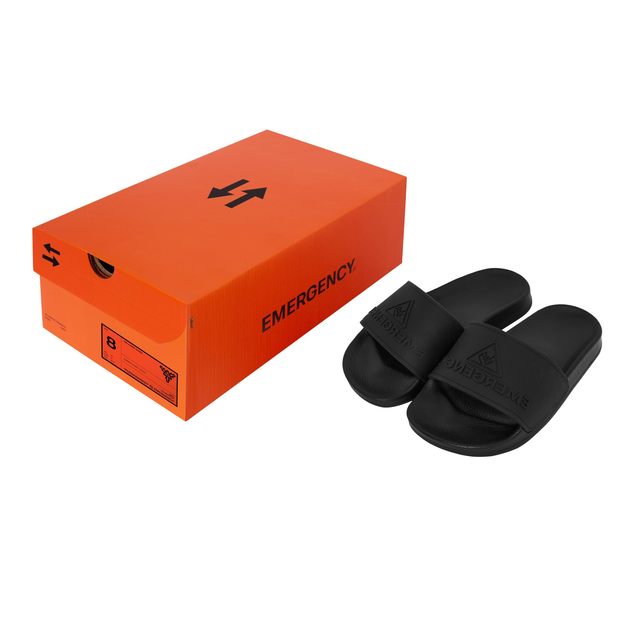 TKGXEMGY SURVIVAL SLIDES - BLACK