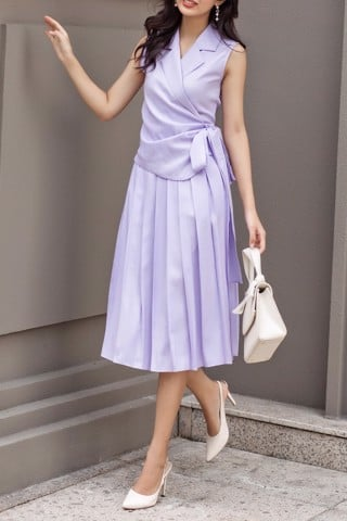 Timie Skirt - Lilac