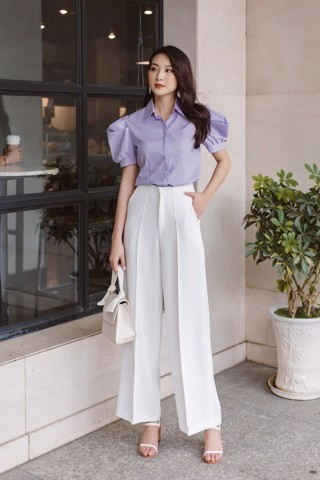 Phoebe Top - Lilac