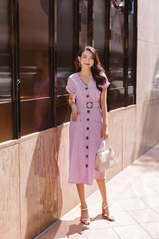 Orchid Dress - Lilac