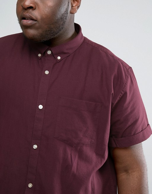 Áo sơ-mi River Island PLUS Short Sleeve