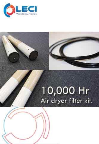 10,000 Hours Air Dryer Filter Kit 71519815 / 71519825