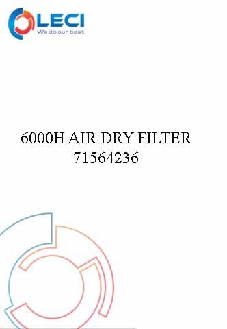 6000 Hours Air Dryer Filter Kit 71564236
