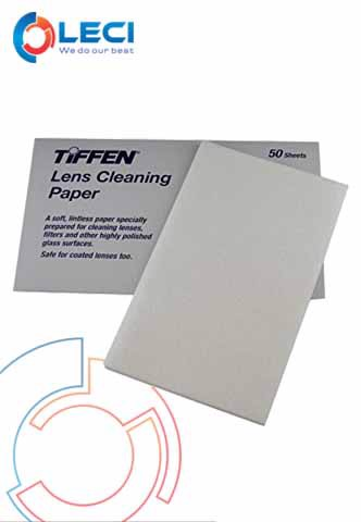 Tiffen Lens Paper Sheet