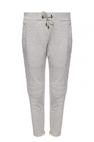 SWEATPANTS WITH SEWN-IN ZIPPERS