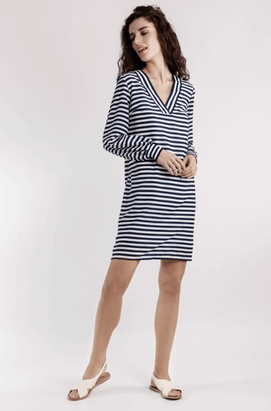 LONG-SLEEVE DRESS - MALVINA