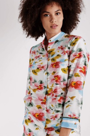 FLORAL TUNIC - OBAMA