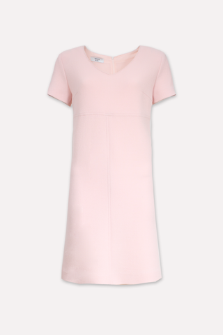 A-line wool dress - CARLEN ROSE