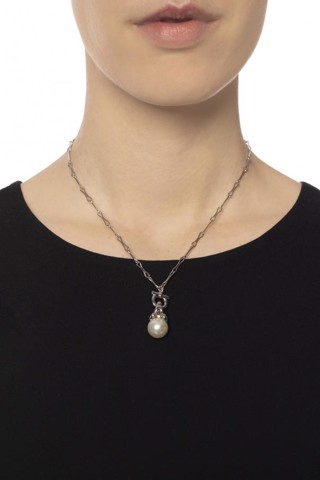 Pendant Pearl Chain Necklace