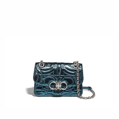 Ganici Quilted Shoulder Bag