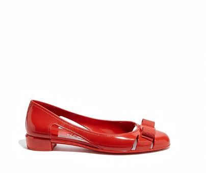 Jelly Ballet Flat with Vara bow
