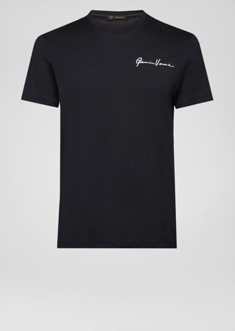 GV SIGNATURE EMBROIDERED T-SHIRT