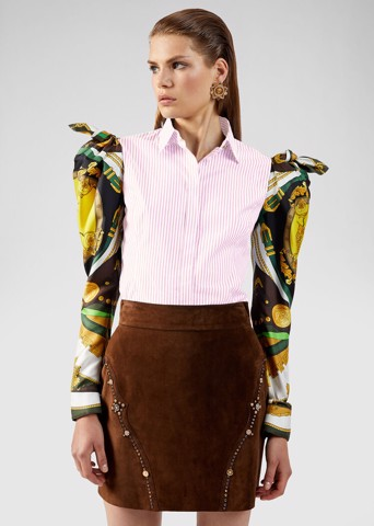 BAROCCO RODEO PRINT ACCENT SHIRT