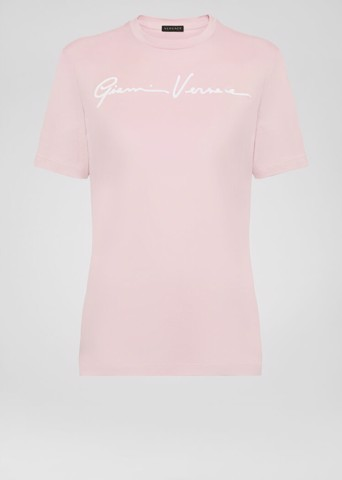 EMBROIDERED GV SIGNATURE T-SHIRT