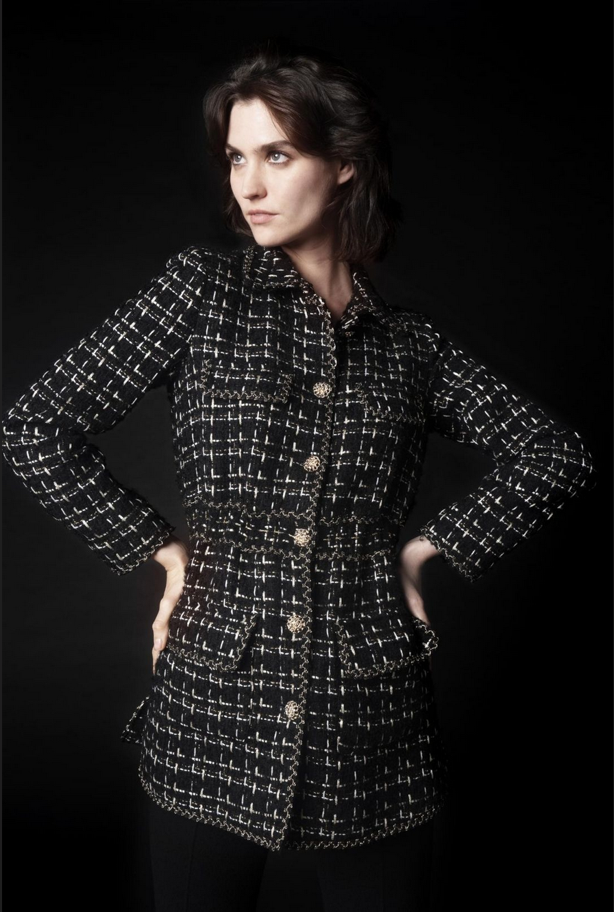 Tweed jacket - MARLINE NOIR