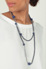 Long double-strand beaded necklace - MABELI MARINE