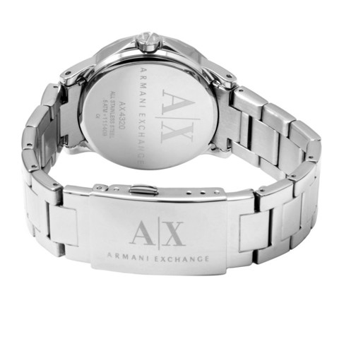 AX Analog Watch 0 Jwl Ss Metal Bracelet (AX4320)