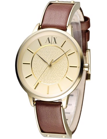 AX Analog Watch 0 Jwl Ss Leather Strap (AX5310)