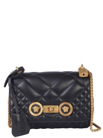 Icon Medusa Detailed Quilted Nappa Small Bag