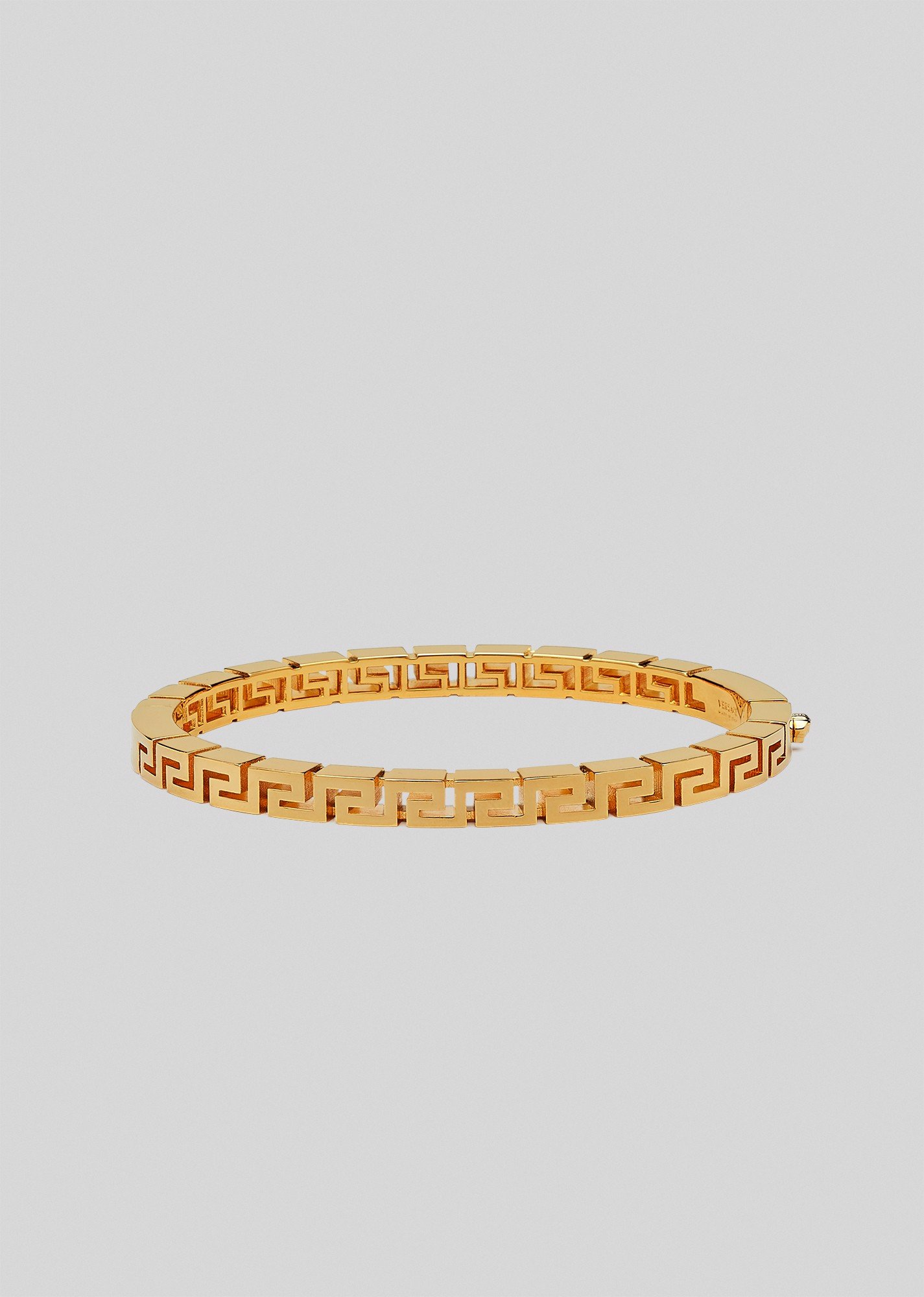 Meander Bangle Bracelet (Gold)