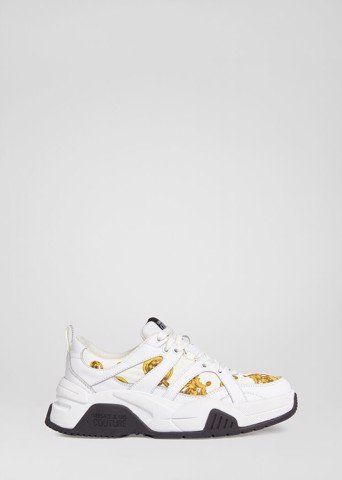BAROQUE JEWELS ACCENT LOGO TRAINERS