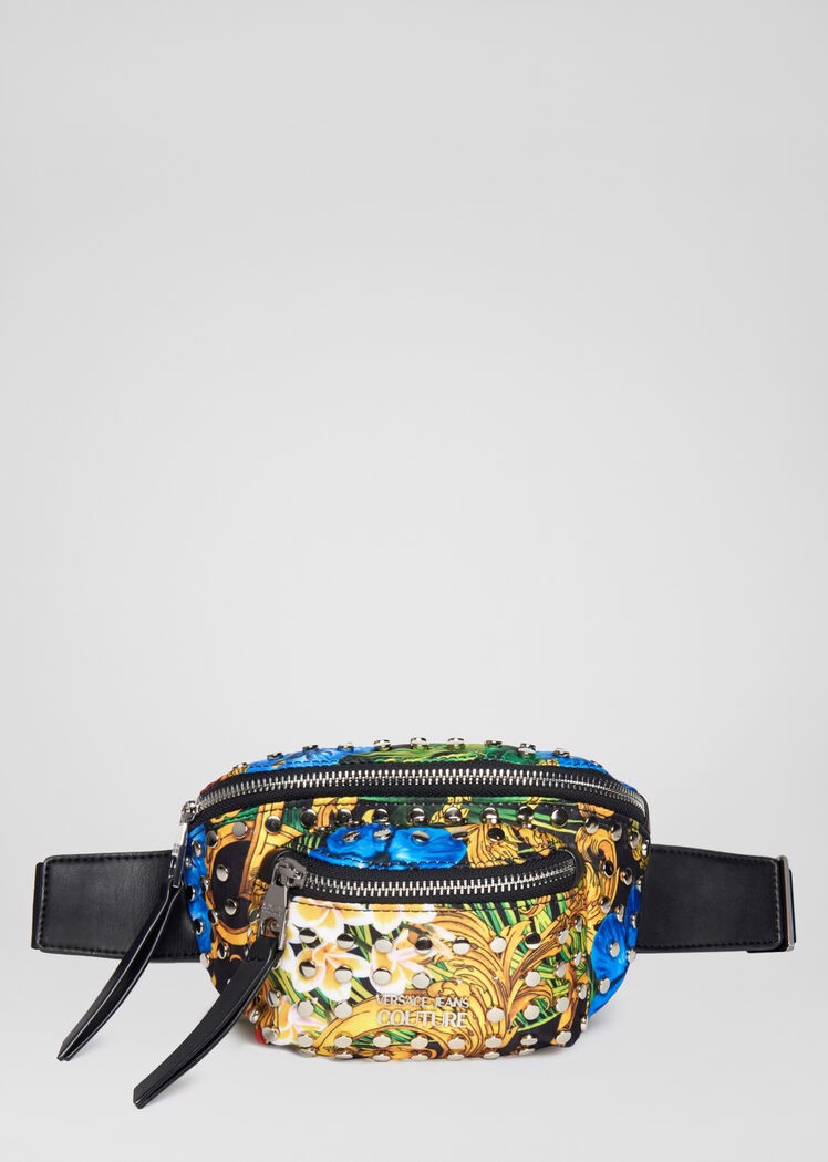 TROPICAL BAROQUE PRINT BELT BAG