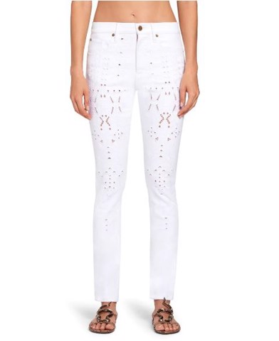 SAN GALLO CUT OUT SKINNY JEANS