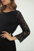 Lace dress - MARILISE NOIR